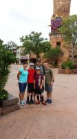 Me and my family at Islands of Adventure by RarityLuver214