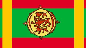 Alternate Flag of The Bulgarian Empire by DragonLlabroe