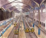 Trains under roof by mikopol
