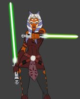 Ahsoka - new design WIP by JosephB222