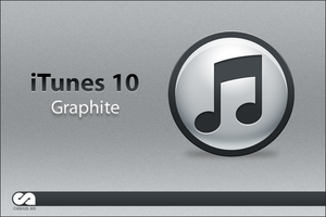 iTunes 10 Graphite by asdelpar