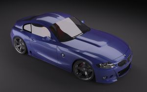 BMW Z4 Coupe Modified 01 by Pisci