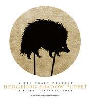 Hedgehog Shadow Puppet by mimetalk