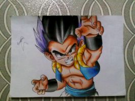 GOTENKS by powre