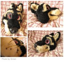 Mutie airbrushed head by Grion