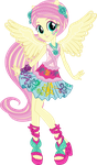 Rockin' Hair Fluttershy Vector by icantunloveyou