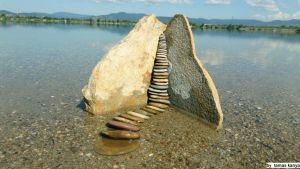Land art-Stones in Hungary by tamas Kanya by tom-tom1969