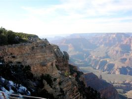 STOCK Grand Canyon5 by EscapeFromWonderland