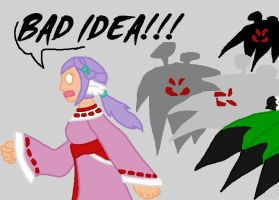 BAD IDEA by Hawksfeathers97