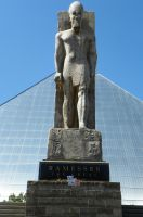 Ramesses and the Pyramid by DingoDogPhotography