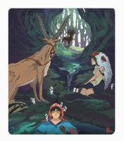 Princess Mononoke by conorsmith12
