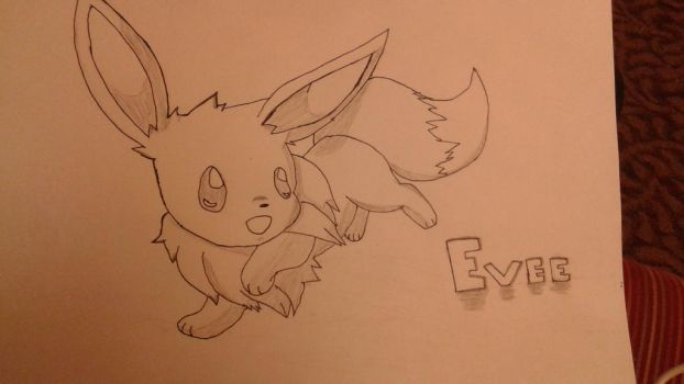 Evee drawing by 1145kagome1145