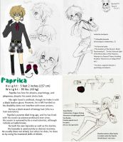 OC Reference: Paprika by milei