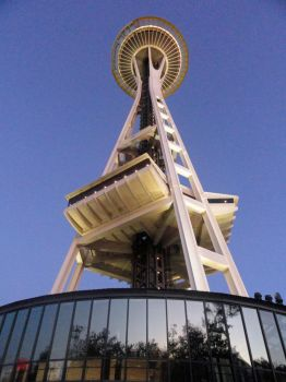 The Space Needle by Evianthice