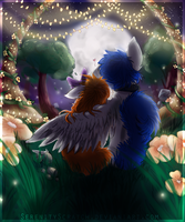 Auxenity Valentines + Speedpaint by SerenityScratch