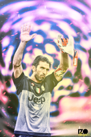 Gianluigi Buffon Juventus Effect ! by izographic