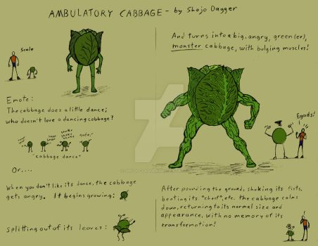 Ambulatory Cabbage by Shojo-Dagger