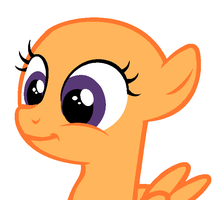 BASE: A filly's sweet smile. by GoldenAvi