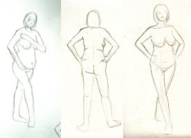 5 minute nude gesture by fuzzyhandcuffs