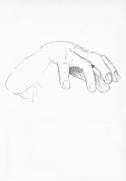 Hand Sketch by Seaworm