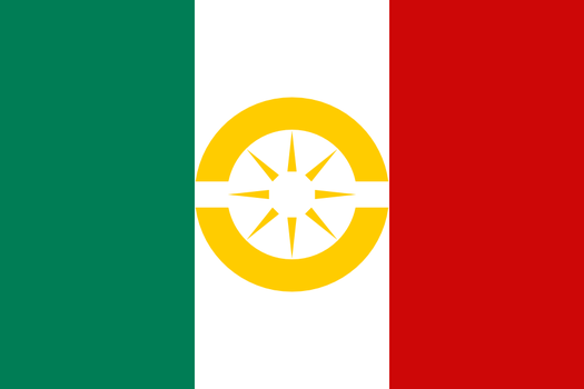 Flag of the Aztec League by NikNaks93