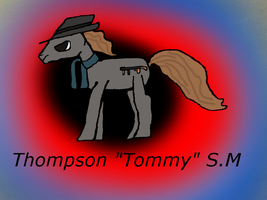 [MLP OC] Tommy S.M by Dullapony