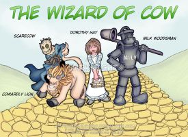Wizard of Cow by darknight80