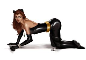 Trinquette Catwoman Wkly challenge by fatL-ephant