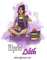Hipster Lilith by AngelaSasser