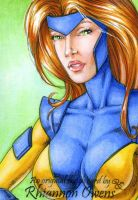 Jean Grey Sketch Card '09 by Dangerous-Beauty778