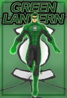 Green Lantern Kyle Rayner by JoLawlietDesign