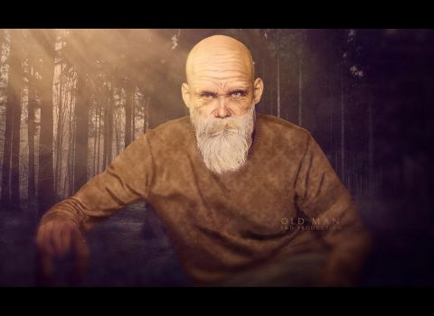 OLD MAN from my childhood by semyk3