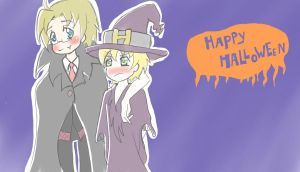 APH- Happy Halloween by LeMunis