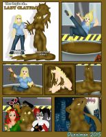 Lady Clayface Origin Story by DannimonDesigns