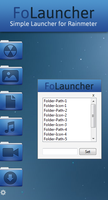 FoLauchner - Simple Launcher for Rainmeter by waldi-de