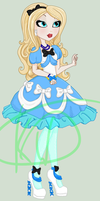 Ever after High oc: Point commision by Kinga-of-Queens