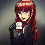 Mugshot Monday: Black Widow by AndrewKwan