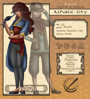 Republic City - Astrid by Angymoo
