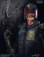 FINAL JUDGEMENT - Judge Dredd by The-Art-of-Ravenwolf