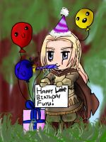 Happy -late- Birthday Fuyu by Uri-Loves-Cookies