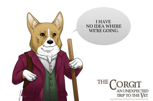 The Corgit - Single Panel by SilentReaper