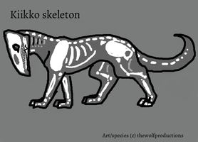 Kiikko skeleton reference by Crystal-gryphon
