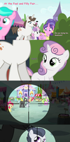 Sweetie Belle the Colt Hunter by LunaticDawn