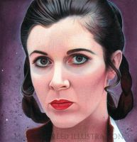 Heroes of the Rebellion: Leia by MJasonReed