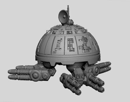 Mekkus Central Command Unit by Patrick-K