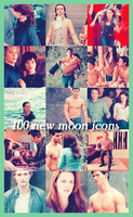 100 new moon icons by revallsay