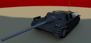 JgPz IV ausf B Front done by Giganaut