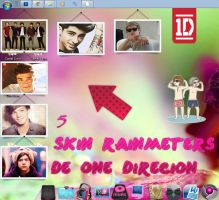 5 Skin Rainmeter de One Direction by KissOfPrincess