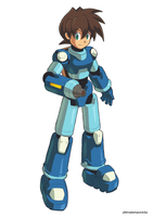 Megaman Volnutt (Official Style) by ultimatemaverickx