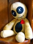 Basic Plush Voodoo Doll by GhoulieDollies